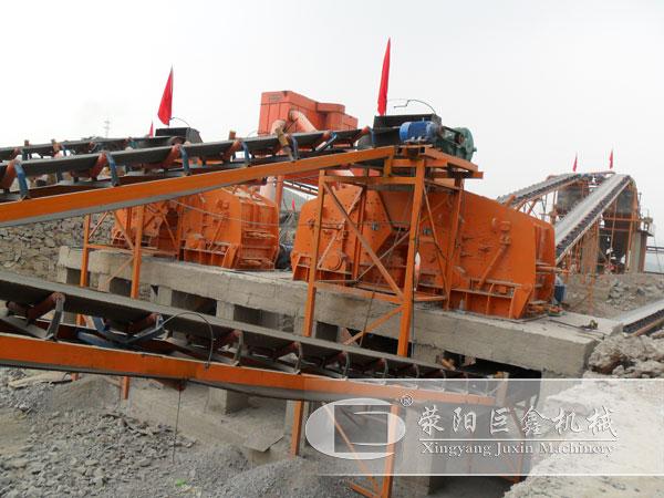 湖南宁乡时产800吨沙石生产线