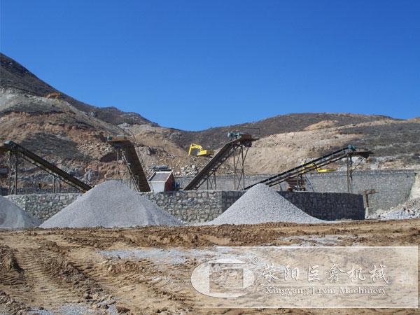 山西日产3000吨制沙生产线