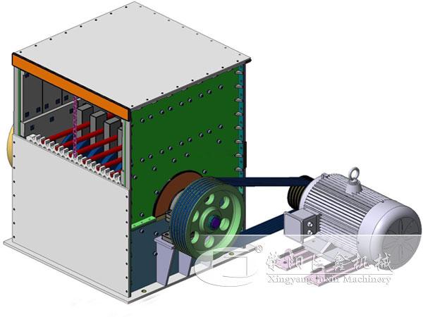 箱式破碎机工作原理结构