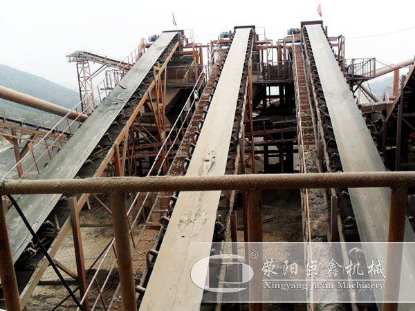 石料厂皮带输送机