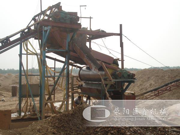 时产100吨河沙选铁生产线